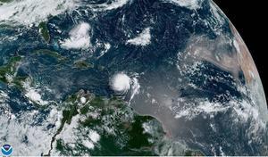 Trayectoria del huracán Dorian.