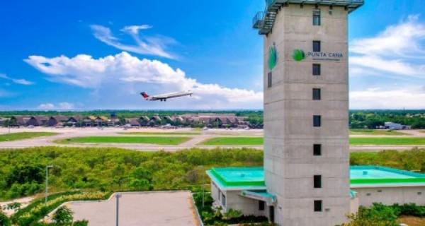 Torre de control Aeropuerto Internacional de punta Cana.