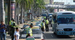 El transporte de Santo Domingo.