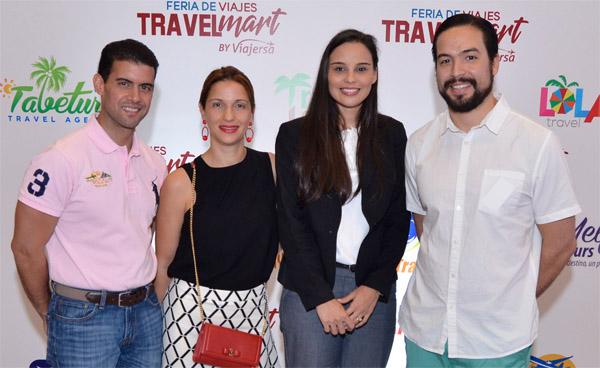 José Jehnson, Evelyn Fernández, Grecia Berrido y Javier Alemany