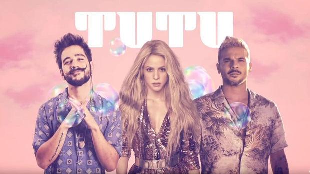 "Shakira esta de estreno con el nuevo remix de ""Tutu""."