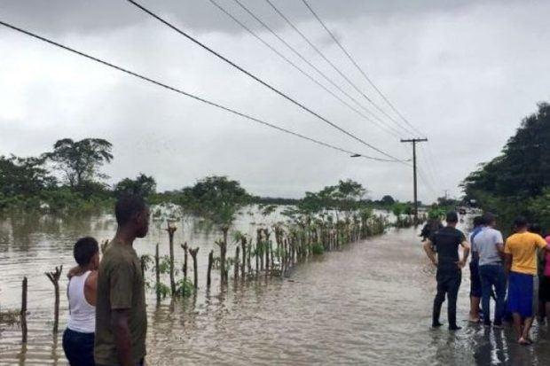 Las lluvias caídas en las últimas horas aíslan a 10 comunidades
