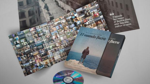 """Alejandro Sanz lanza su propia película documental: """"El mundo fuera"""""""