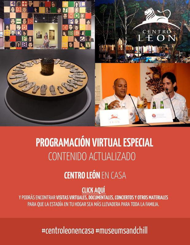 Centro León en casa: programación virtual