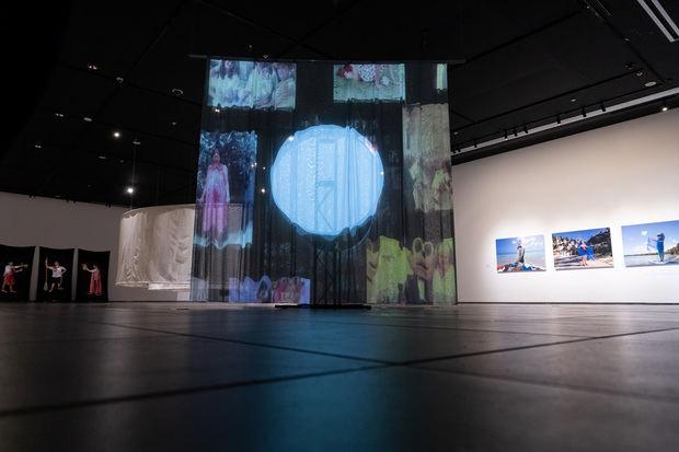 Abre exposición 28 Concurso de Arte Eduardo León Jimenes