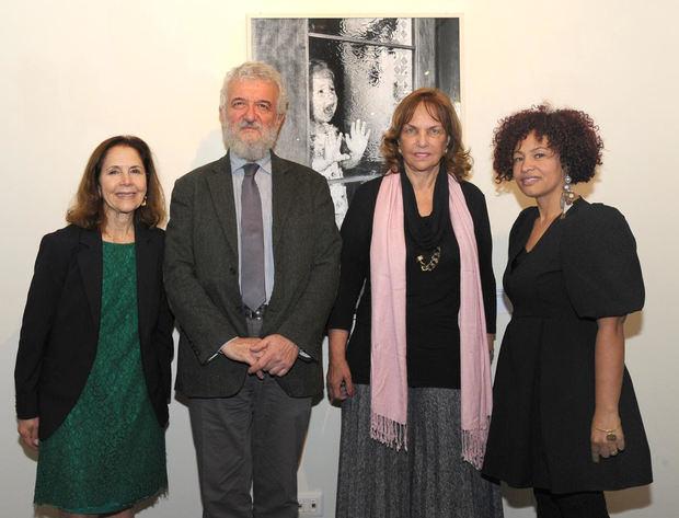 De izquierda a derecha, Luisa Auffant, Agregada Cultural, Donato Di Santo, Director General del IILA, Peggy Cabral, Embajadora Dominicana en Italia y Rita Valenzuela.