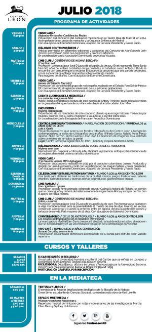 Agenda de Ocio & Cultura del 17 al 19 de marzo
