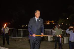 Embajador Daniel Biran.