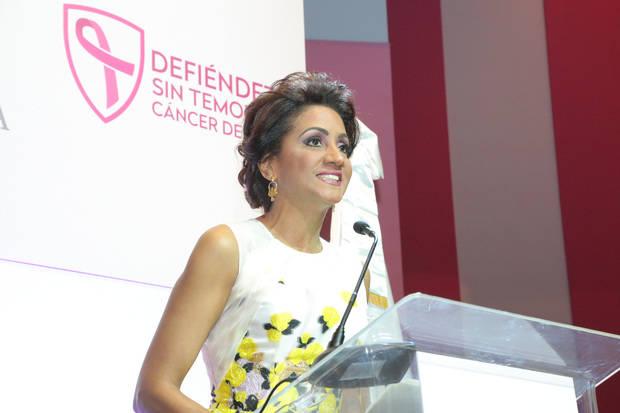 Primera Dama llama mujeres dominicanas a estar alertas para prevenir y derrotar el cáncer