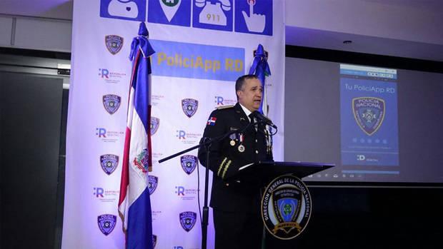 Director general de la Policía Nacional, mayor general Ney Aldrin Bautista Almonte