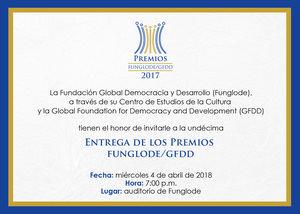 Entrega de premios Funglode.