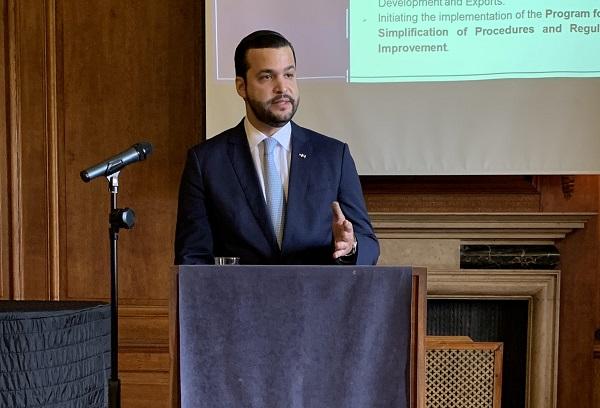 Rafael Paz asegura que mejora de competitividad atraerá inversión británica al país