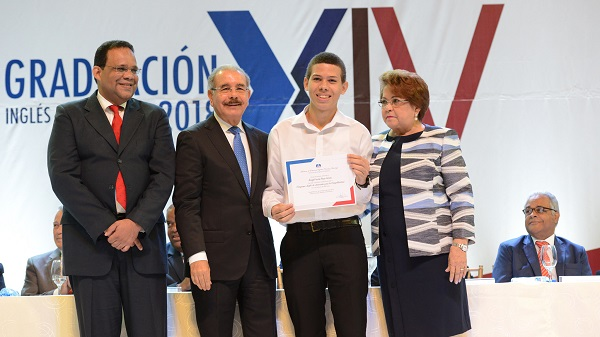 Danilo Medina en el acto