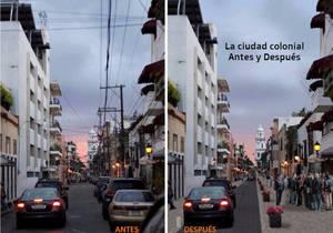 Santo Domingo, antes y después