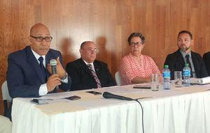 Ministro Peña Mirabal instruyó que se concluya programa de reparación escolar en menor tiempo posible