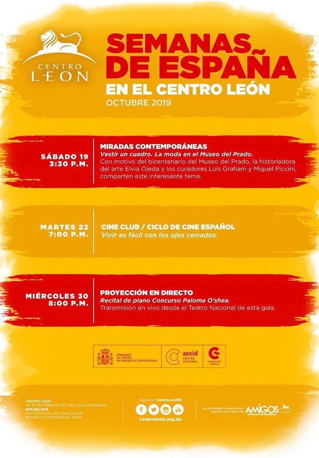 Programa Semanas de España en el Centro León