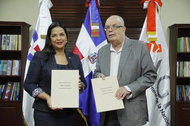 AGN y DGCINE firman convenio colaboración