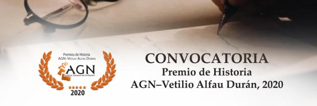 Archivo General de la Nación convoca Premio de Historia Vetilio Alfau Durán