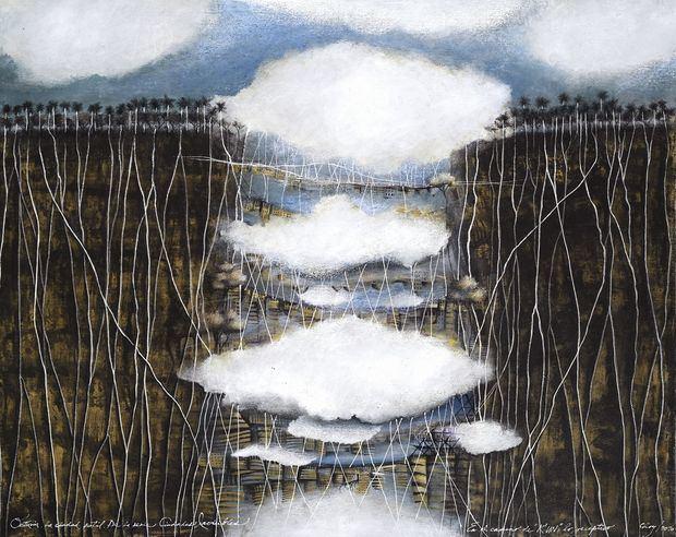 Mamey Galería- Eddy Guzmán presenta la exposición de José Antonio Choy