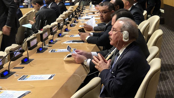 Danilo Medina participa en encuentro sobre financiación Agenda 2030 para el Desarrollo