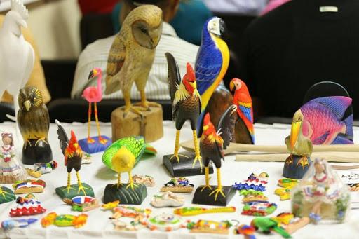Estas son algunas de las representaciones artísticas elaboradas por los artesanos y artesanas locales.