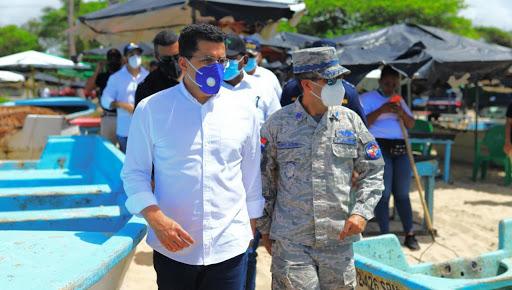 Ministro de Turismo, David Colladose reúne con autoridades de playas de Boca Chica, Guayacanes y Juan Dolio.
