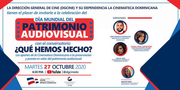 DGCINE conmemora el Día Mundial del Patrimonio Audiovisual