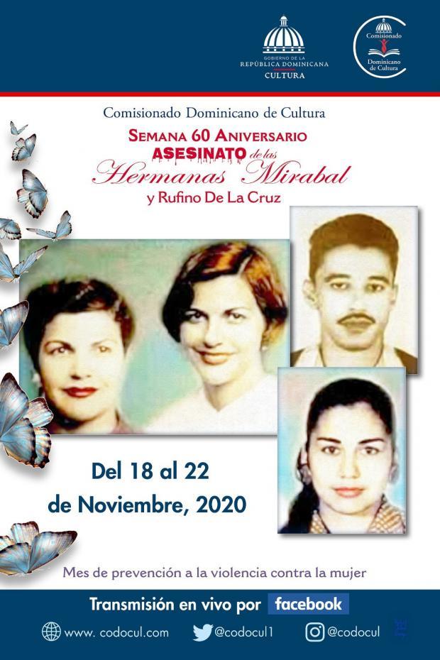 Comisionado Dominicano Cultura los EE.UU. anuncia actividades semana aniversario Hermanas Mirabal