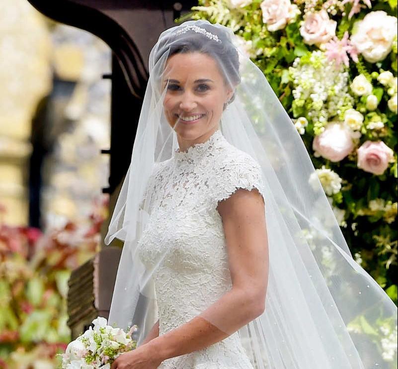 Pippa Middleton, una radiante novia el día de su boda
