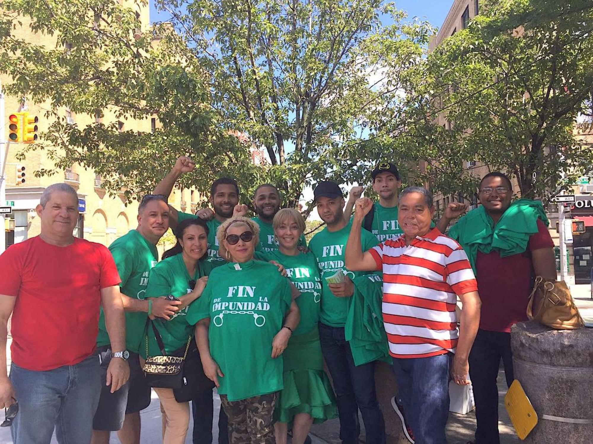 Anuncian Marcha Verde en Nueva York