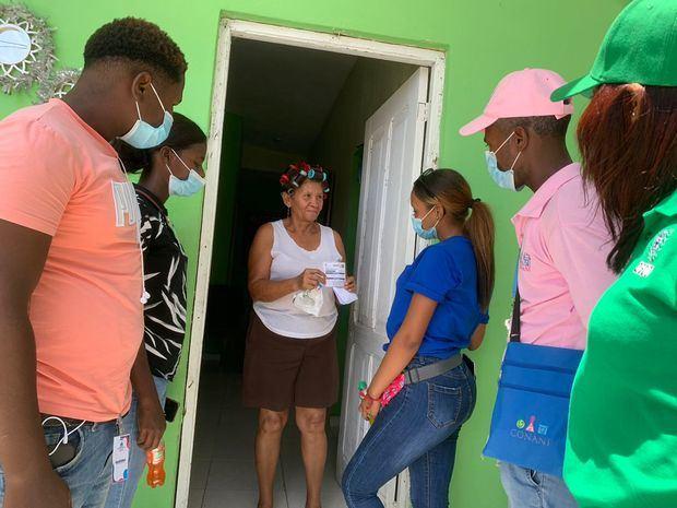 CONANI se integra de manera activa a Jornada de Vacunación en las Regiones Sur y Este del país