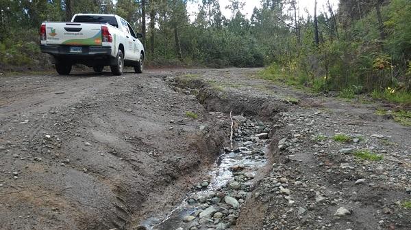 Asociaciones de Constanza piden a las autoridades el arreglo de la carretera