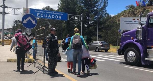 Ecuador reitera compromiso para proteger derechos de inmigrantes venezolanos