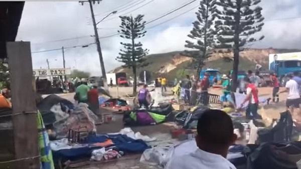 Migrantes venezolanos en Brasil