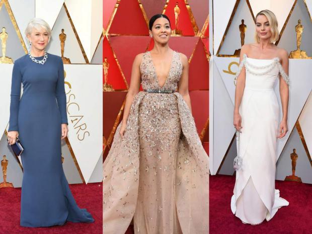 La alfombra roja de los Óscar, sin hilo argumental estilístico