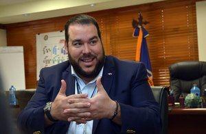 Víctor Gómez Casanova, director de la Autoridad Portuaria Dominicana (Apordom).