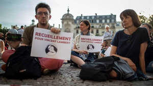 Vincent Lambert se convirtió en símbolo del debate en torno a una muerte digna en Francia.