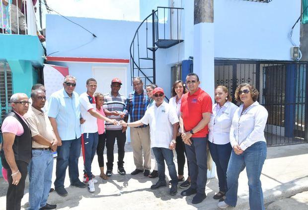 Entregan vivienda reconstruida a boxeador Leonel de los Santos
