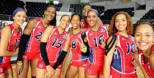 selección nacional femenina de voleibol.