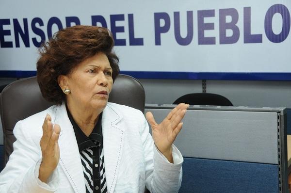 Defensora del Pueblo satisfecha porque diputados se oponen a donación