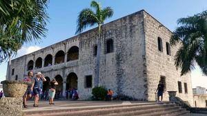 Alcázar de Colón en la Ciudad Colonial.